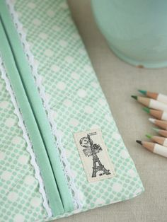 pencil case - Pretty by Hand -