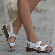 Believed Womens Sandals Studded Summer Espadrille Platforms Shoes Size Wedge Flat Sandals M US Women Black 34//3.5 B