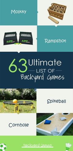 Includes lawn games, toss games, classic games, new games, games for adults and games for kids. We racked our brain to come up with this comprehensive list of 63 games. Beach Games For Adults, Camping Games For Adults, Group Games For Kids, Games For Teens, Adult Games, Family Games, Camping Ideas, List Of Outdoor Games, Outdoor Drinking Games