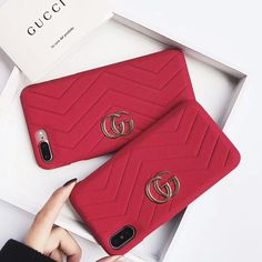 Gucci Case For iPhone 8/7/6/Plus Red #IphoneCaseCovers