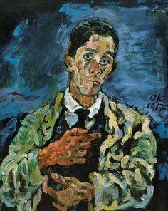 Oskar Kokoschka autoportrait