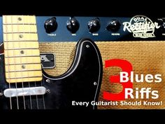 3 Blues Riffs Every Guitarist Should Know! - YouTube