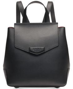 d43d20a8416 Dkny Sullivan Leather Flap Backpack