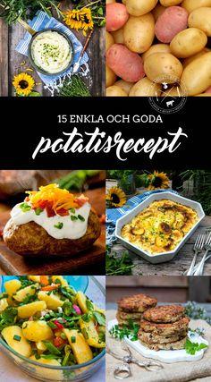 15 goda tips på vad man kan göra med potatis Potato, Fruit, Ethnic Recipes, Tips, Food, Crafts, Potatoes, Manualidades, Handmade Crafts