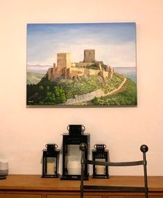 Thank you to the buyer who sent me photos of Lorca Castle my commission painting in situ by Julia Underwood & Jewells Art Koi Painting, Painting Process, Feng Shui Koi Fish, Feng Shui Art, Art Articles, Small Canvas, Fish Print, Online Art Gallery, Pet Portraits