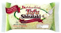 Shirataki! Low Carb Noodle Style Tofu! -Delish!!