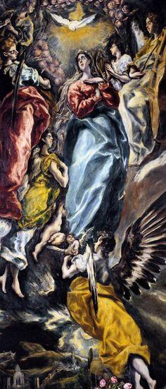 El Greco Asunción de la Virgen