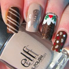 It's all about the polish: christmas #nail #nails #nailart