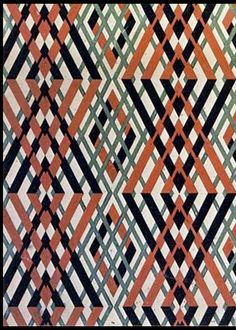 Design I Love: Liubov Popova's textile design