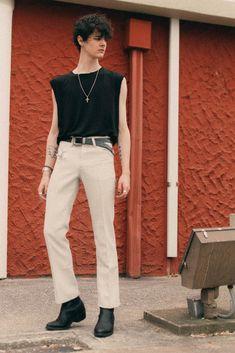 70s Fashion Men, 70s Inspired Fashion, Retro Outfits, Stylish Outfits, Fashion Outfits, Looks Style, Types Of Fashion Styles, Aesthetic Clothes, Ideias Fashion