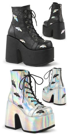 1f29f02fe6f 9 Best Hologram Boots and Shoes images