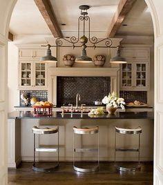 Black Tile Backsplash   Black Tile Kitchen Backsplashes   Atticmag   Kitchens, Bathrooms ...