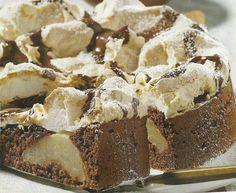 Chocolade-perentaart Met Schuim recept   Smulweb.nl