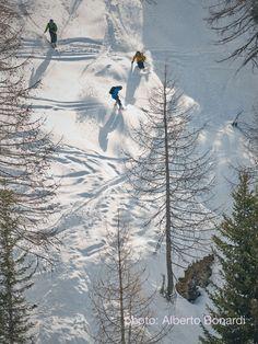 #Freeriding in Madonna di #Campiglio this winter 2016... #photoshooting #skiing #Alps #NanoxSki #freeski