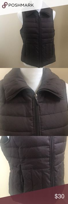 ⭐️ KENNETH COLE Reaction, Down, Vest! ⭐️ ⭐️ This beautiful Kenneth Cole, brown, down filled vest is in amazing preloved condition, no holes, tears, or stains. The zipper works great, size large, shell & liner 100% polyester, filler 60% down, 40% feathers. Bundle and save, all offers are welcome! ⭐️ Kenneth Cole Reaction Jackets & Coats Vests