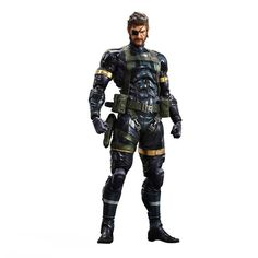 SNAKE – METAL GEAR SOLID V: GROUND ZEROES – PLAY ARTS KAI – ACTION FIGURE