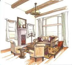 1000 Images About Sketch On Pinterest Interior Rendering Interior Sketch And Markers