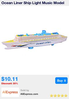 Ocean Liner Ship Light Music Model Flashing Sound Electric Cruises Toys for Children Kids Boat Gift Automatic Steering * Pub Date: 06:48 Apr 18 2017