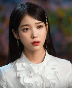 IU - Hotel De Luna Korean Actresses, Korean Actors, Iu Twitter, Korean Girl, Asian Girl, Snsd Yuri, Luna Fashion, Pretty Asian, My Princess