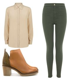 """Untitled #867"" by kisabelladiamond on Polyvore featuring Miista, Miss Selfridge and MaxMara"