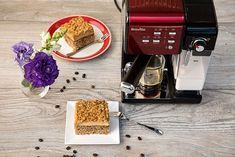 PRAJITURA CU NUCA SI CREMA DE CAFEA | Diva in bucatarie Drip Coffee Maker, Deserts, Kitchen Appliances, Sweets, Diy Kitchen Appliances, Home Appliances, Coffeemaker, Desserts, Domestic Appliances