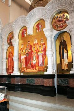 The Romanovs family as St Martyrs, Russian Orthodox Church