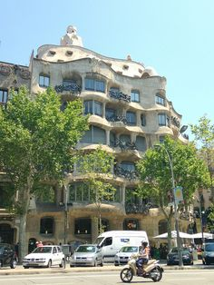 Casa Milà, Barcelona. From a great blog post on Barcelona by French Madame.