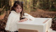 """Bureau """"My Little Pupitre"""" - Blanc - Chêne massif - à partir de 3 ans - 499 €"""