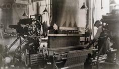 Man Operating Jacquard Loom #weaving #weaversatwork
