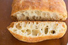 Ciabatta Bread Recipe | browneyedbaker.com