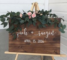 Wedding Guestbook Sign, Welcome Wedding Sign, Custom Wedding Signs, Wedding Gift, Wood Wedding Signs Custom Wedding Gifts, Personalized Wedding Gifts, Diy Wedding, Rustic Wedding, Wedding Ideas, Trendy Wedding, Wedding Ceremony, Wood Wedding Signs, Wedding Welcome Signs