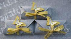 Schokoladenverpackung mit dem Envelope Punch Board
