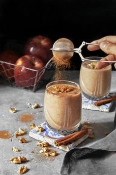 Apple Smoothies, V60 Coffee, Brunch Recipes, Allrecipes, Alcoholic Drinks, Food And Drink, Appetizers, Sweets, Snacks