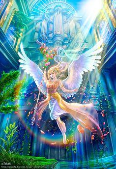 rebirth - Beautiful Fantasy Art by Takaki  <3 <3