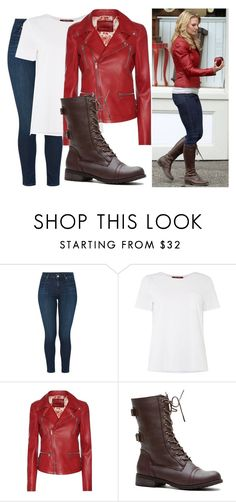 """Emma Swan"" by basic-disney ❤ liked on Polyvore featuring Once Upon a Time, J Brand, MaxMara and Gucci"