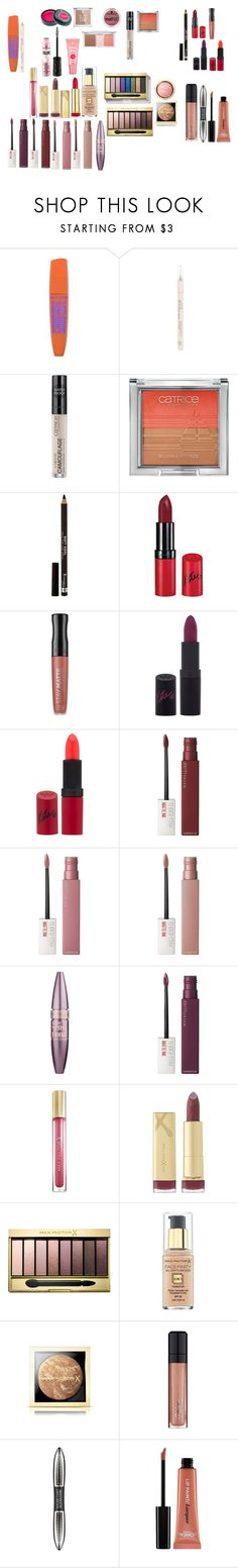 """""""Miss sport,essenc,rimmel,maybelline,max factor,l oreal"""" by azra-99 ❤ liked on Polyvore featuring beauty, Rimmel, Maybelline, Max Factor and L'Oréal Paris"""