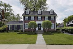 This classic red-brick house is the one that Steve Martin's character Neal owned in the 1987 John Hughes comedy Planes, Trains & Automobiles. He spent most of the movie trying to get back to it in time for Thanksgiving.  Now it's on the market in Kenilworth, Illinois, for $1.799 million. Here's how it looks today: