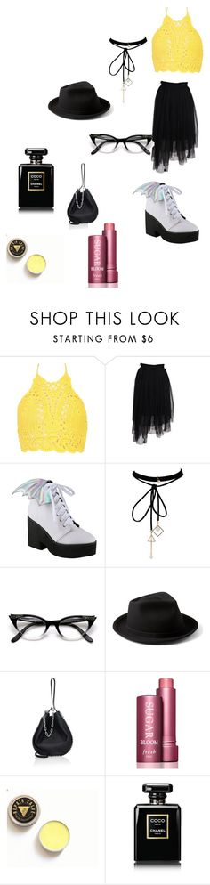 """""""Untitled #8"""" by arikenn on Polyvore featuring Boohoo, MSGM, Iron Fist, WithChic, Yellow 108, Alexander Wang, Fresh and Chanel"""