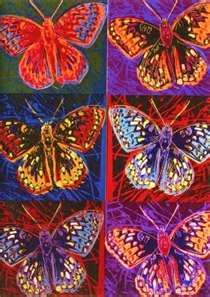 Andy Warhol - butterflies Andy Warhol :♦️More Pins Like This At FOSTERGINGER @ Pinterest ♦️