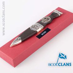 Ross Clan Crest Sgian Dubh. Free worldwide shipping available