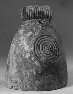 Bell Period: Late period Date: ca. 300 B.C.–A.D. 200 Culture: Thailand (Ban Chiang) Medium: Bronze