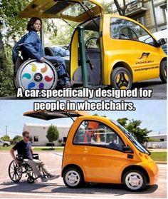 Wheelchair car
