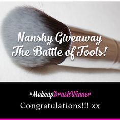 We already choose the lucky winner of our #Nanshy #Flawless #Foundation F01 | #Face #Makeup Brush <3  The winner is identified randomly out of all participants who liked, shared, commented of all our contest posts in our Facebook Fan Page :) The lucky winner will be tagged in this post! Thank you all for participating our #Nanshy Giveaway | The Battle of Tools. Don't worry, just keep updated as we will post another exciting #giveaways.