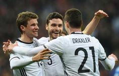 Unerwartet leichtes Spiel: Deutschland schlägt Italien 4:1