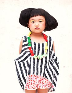 Franky Franky grow glow stripe tank top black 2013SS - BABY & KIDS & MOMMY clothes childrens clothing import Kiiroiki