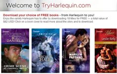 Download Your Choice of Free Harlequin books