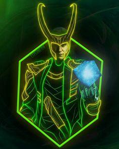 Tony Stark Wallpaper, Loki, Marvel Comics, Avengers, Neon, Fictional Characters, Art, Art Background, Kunst