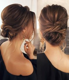 60 Trendiest Updos for Medium Length Hair | Formal updo, Low buns ...
