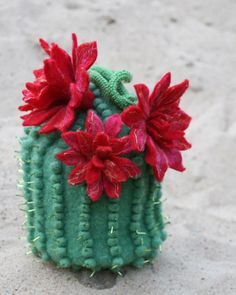 cactus - handmade purse by MarianneS