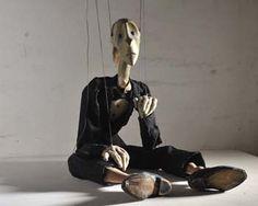 Jiri Trnka: marionette on strings, Pianist, 1934